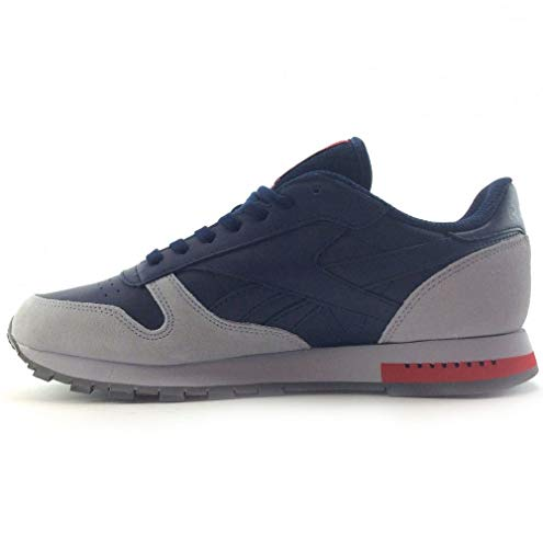 Grey Navy 2017 Reebok Leather Cl qUx4wERnv