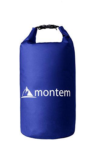 Round Trip Bag - Montem Premium Waterproof Bag/Roll Top Dry Bag - Perfect for Kayaking/Boating/Canoeing/Fishing/Rafting/Swimming/Camping/Snowboarding (Blue, 30L)