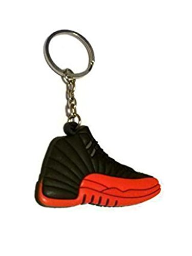 3702d98159c7e9 Amazon.com  Jordan Shoe Keyring Generation 12  Automotive
