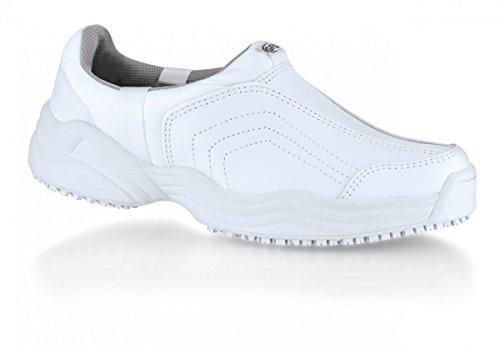 Shoes for Crews Eastside Chaussures de travail–Femme Blanc