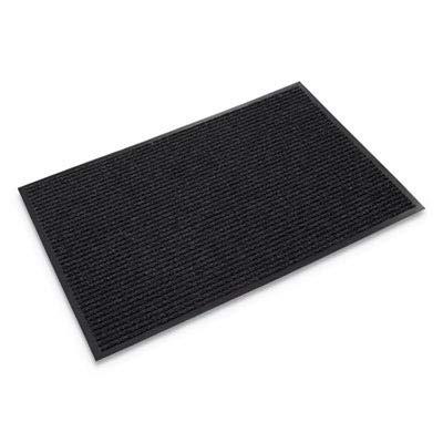(Crown NR0046CH Needle-Rib Wiper/Scraper Mat, Polypropylene, 48 x 72, Charcoal)