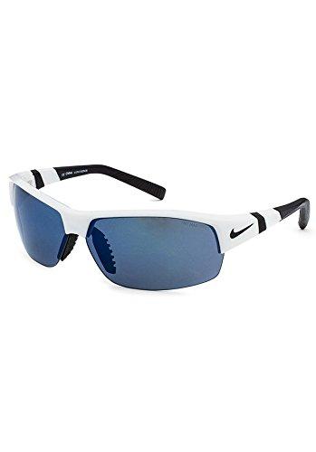 Nike Sunglasses - Show X2 / Frame: White/Black Lens: Grey with grey - Baseball Nike Sunglasses