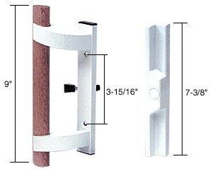 Mortise Style Sliding Glass Patio Door Handle, 3-15/16