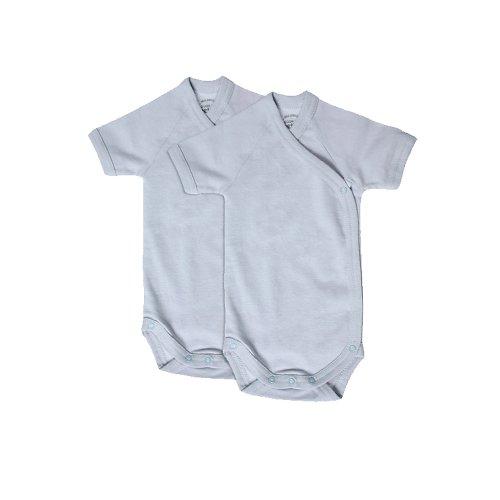 giggle Better Basics Short-sleeve Baby Body - Set Of 2 (organic Cotton)