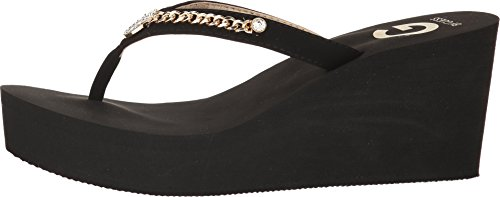 322ae9c54 G by GUESS Womens Statuz Open Toe Casual Platform Sandals - Buy ...