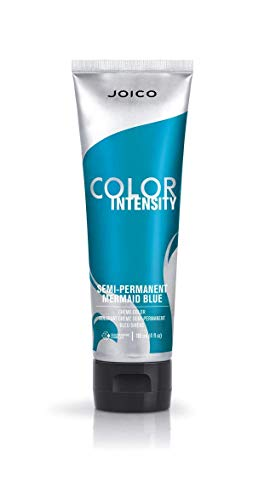 Teal Blue Color (Joico Vero K-Pak Color Intensity Semi Permanent Hair Color - Mermaid)