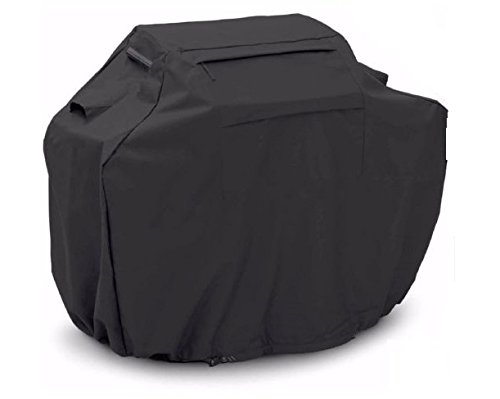"BBQ Gas Grill Cover Black Barbecue Heavy Duty Waterproof Outdoor Weber Lower 58"" Ship from USA"
