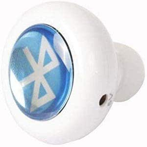 Bluetooth white Wireless Stereo Earphone Headphone for Mobile Cell Phone Laptop Tablet