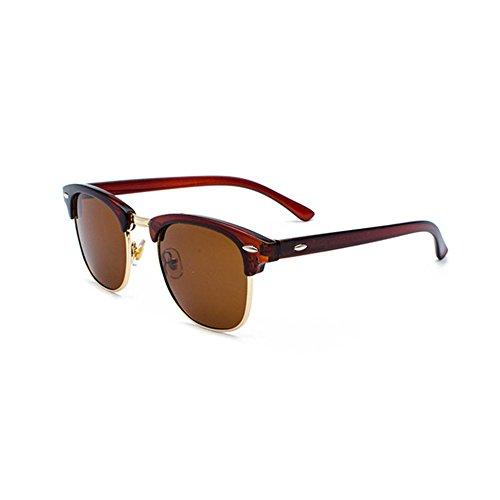 Aoligei L'Europe et les États-Unis en métal lunettes de soleil grand cadre général Chao mans lunettes de soleil lunettes de soleil plates SKNqocD