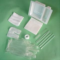 - Standard Trach Care Tray - - Case of 20