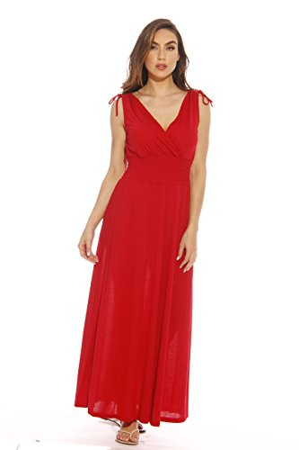Just Love 1929-54-RED-L Maxi Dress/Summer Dresses for ()