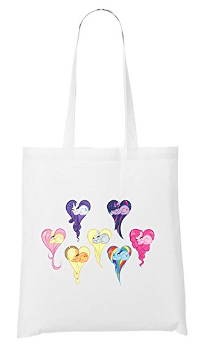 Heart Pony Bag White