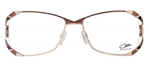 Cazal 1098 Eyeglasses 004 Gold Brown / Clear Lens 55 - Clear Cazal