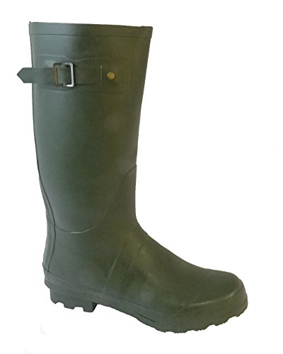 SELLER UK 7 WELLIES READING MUD 4 LADIES V DARK 8 FUNKY METAL BUCKLE WITH BOOTS B99 RAIN GIRLS SNOW amp; BESTIVAL FESTIVAL SIZE GREEN WOMENS nFSqgwA
