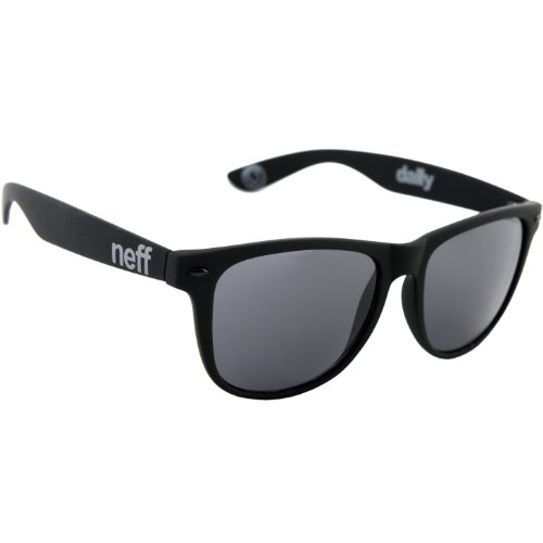 Neff Daily Shades Men's Sunglasses with Cloth Pouch - 100% UV Protection Sunglasses for Men - Sunglasses for Cycling, Running and Driving,Matte - Men For Shades