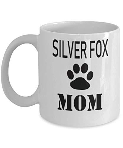 11oz Gift For Silver Fox Owner Personalize Rabbit Mug Custom Pet Mug Rabbit Mom Mug For Rabbit Lovers,al2628