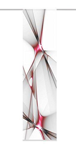 Home Fashion 87188-707 Panneau Japonais Polyester H:245 x W: 60 cm - ROUGE