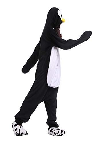 Pinguino Adulti Pigiama Nero Cosplay Animale Nero Halloween Pinguino Unisex Kigurumi Carnevale Costume aqwFZ7Spx