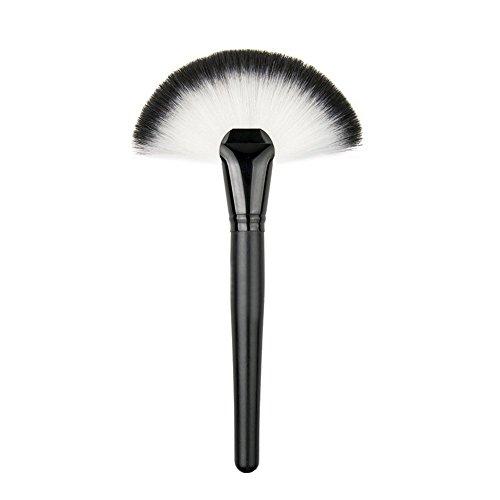 JASSINS Professional Single Makeup Brush Blush / Powder Sector Makeup Brush Soft Fan Brush Foundation Brushes Make Up Tool - Fan Blush Brush
