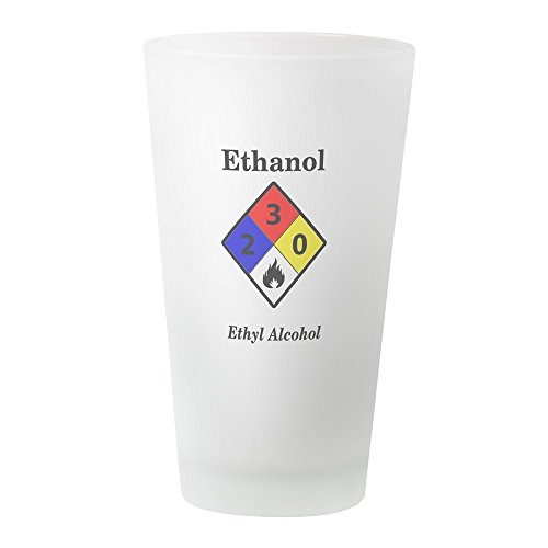 CafePress Ethanol MSDS Label Pint Glass Pint Glass, 16 oz. Drinking Glass