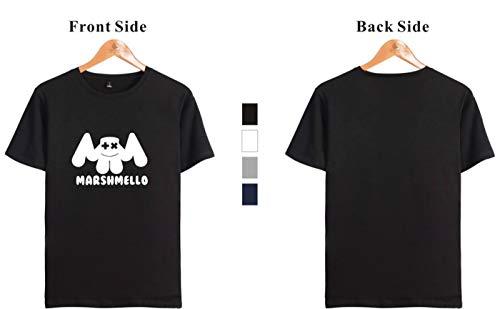 estate Elettronica Top hop Marshmello 3411 Musica Uomo Primavera Seraphy reale Hip T Shirt qw1BRCazC