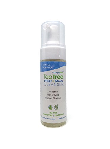 Gentle Formula Tea Tree Eyelid and Facial Cleanser (180ml)