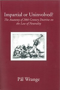 Read Online Impartial or Uninvolved? PDF ePub book