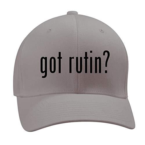 got Rutin? - A Nice Men's Adult Baseball Hat Cap, Silver, Large/X-Large -