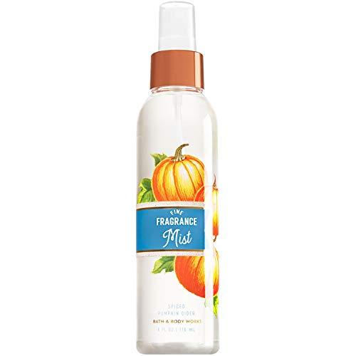 Bath and Body Works Spiced Pumpkin Cider Fine Fragrance Mist 6 Fluid Ounce (2017 Edition)