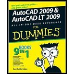 img - for AutoCAD 2009 & AutoCAD Lt 2009 Bible - Reference for Dummies (08) by Ambrosius, Lee [Paperback (2008)] book / textbook / text book