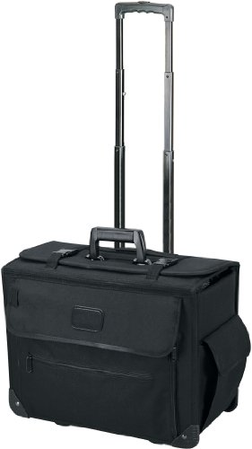 - Sample Catalog Document Rolling Case with Wheels - Black