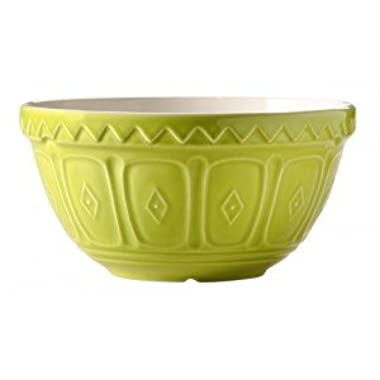 Mason Cash Colored Mixing Bowl, Green, 1.25-Quart
