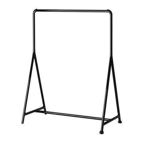 IKEA TURBO - Ropa estante, negro - 117x59 cm: Amazon.es: Hogar