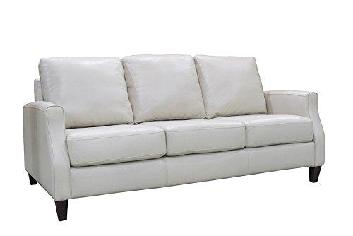 Coja by Sofa4life Springfield Sofa, 37-Inch, White