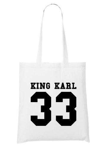 Re Karl 33 Borsa Bianca