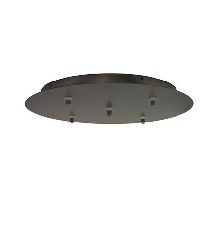 LBL CK005B-FJ-SC Fusion Jack 5 Light Round Canopy