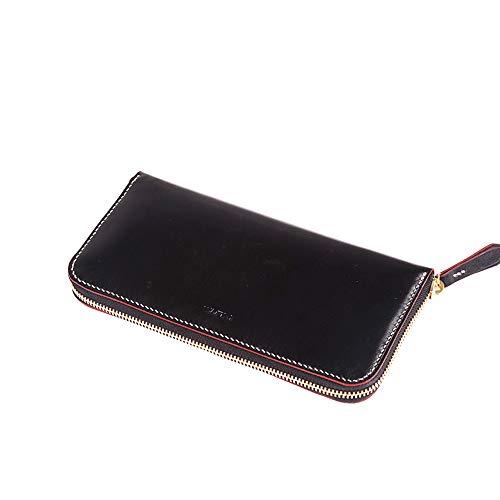 WUTA Leather Zipper Clutch Long Wallet Leather Template Card Holder Handbag Pattern Pack Handmade Tool 965 -