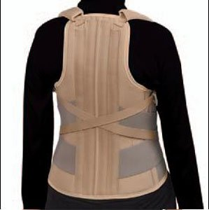 FAST-WRAP Thoracolumbar Support, Size: XL; Height - Front: 7'' / 18cm; Height - Back: 21