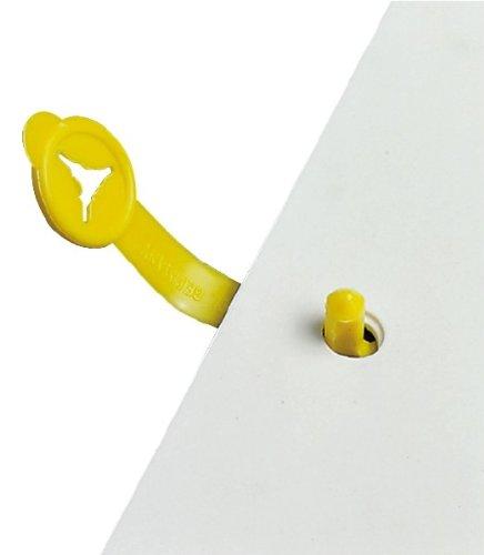 Musterbeutelklammern alternative  100 Stück Briefknöpfe 36mm / 3,6cm Musterbeutelklammern ...