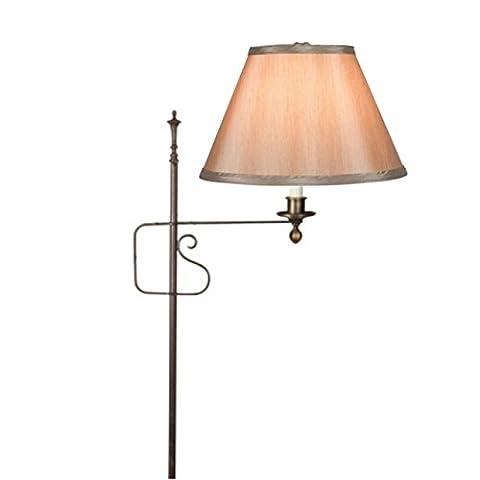 Upgradelights 10 Inch Empire Clip on Replacement Lampshade (Bronze) - Hubbardton Forge Bronze Floor Lamp