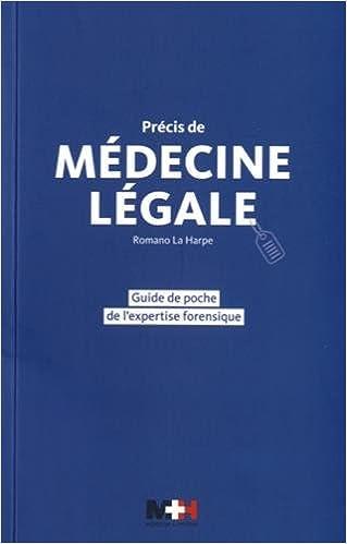 Lire Précis de médecine légale : Guide de poche de l'expertise forensique pdf, epub
