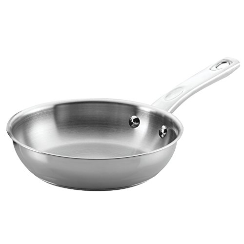 Ayesha Curry 70204 Home Collection Stainless Steel Fry Pan/Skillet, 8.5 Inch