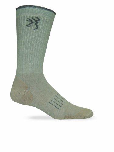 Browning Hosiery Men's Ultra Dri Crew Socks-Pack of 2
