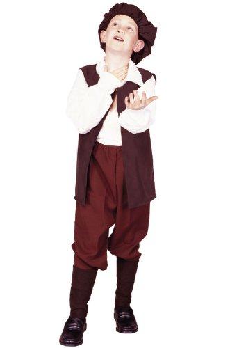 [RG Costumes Renaissance Boy Costume, Black/Cream, Medium] (Bk King Costume)