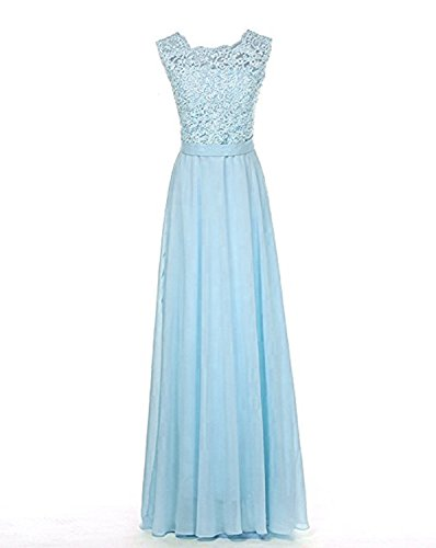 ice blue bridesmaids dresses - 4