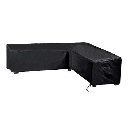 Linkool Upgrade Patio Furniture Sectional Couch Covers,Outdoor Waterproof L Shaped,Right Facing All Weather Protection ()