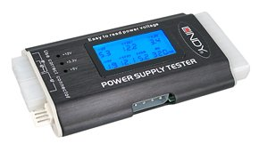 LINDY ATX Power Supply Tester with LCD Display (43058) by LINDY