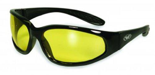 Yellow Eyewear (Global Vision Eyewear Hercules Safety Glasses, Yellow Tint Lens)