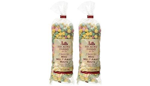 Pkg Farm (Hickory Farm Mini Melt Away Mints- 12 oz pkg -2-Pack (2-Pack))