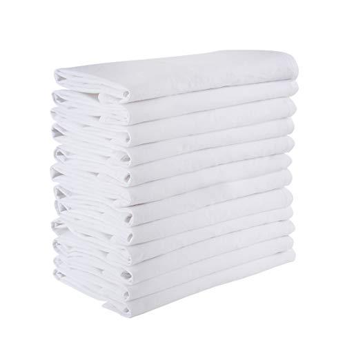 Floursack towels (Set of 6) Soft dish towels, 28x28